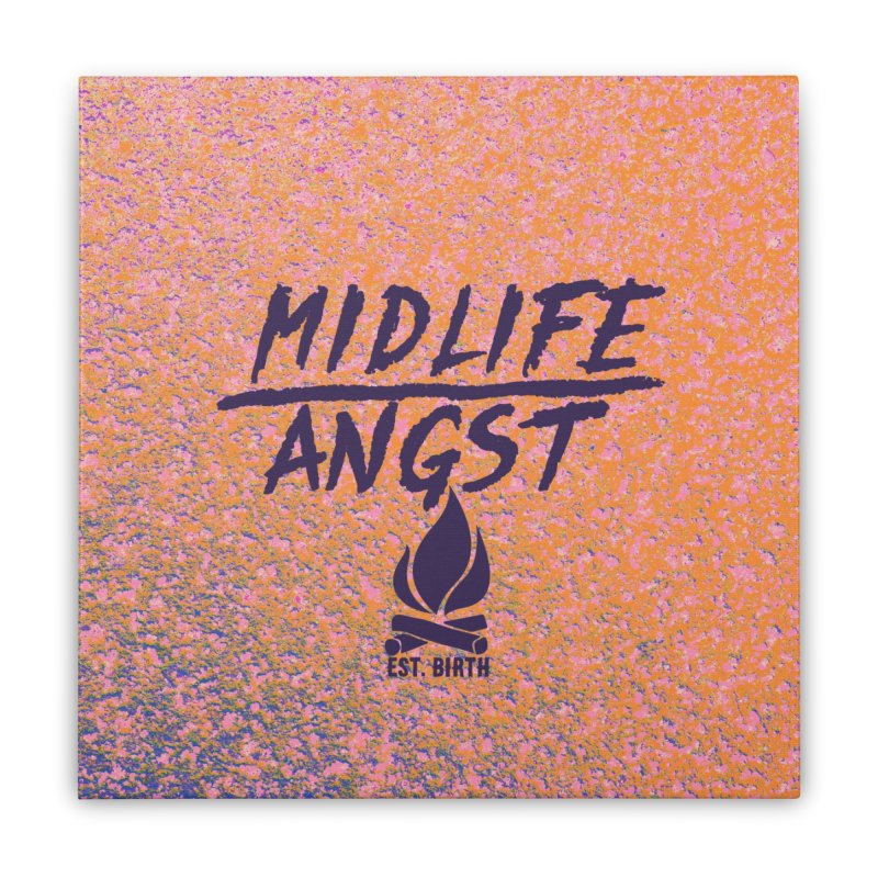 Angst! Home Stretched Canvas by gasponce