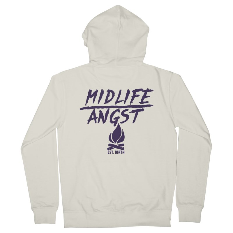 Angst! Women's Zip-Up Hoody by gasponce