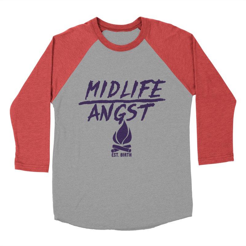 Angst! Men's Baseball Triblend T-Shirt by gasponce
