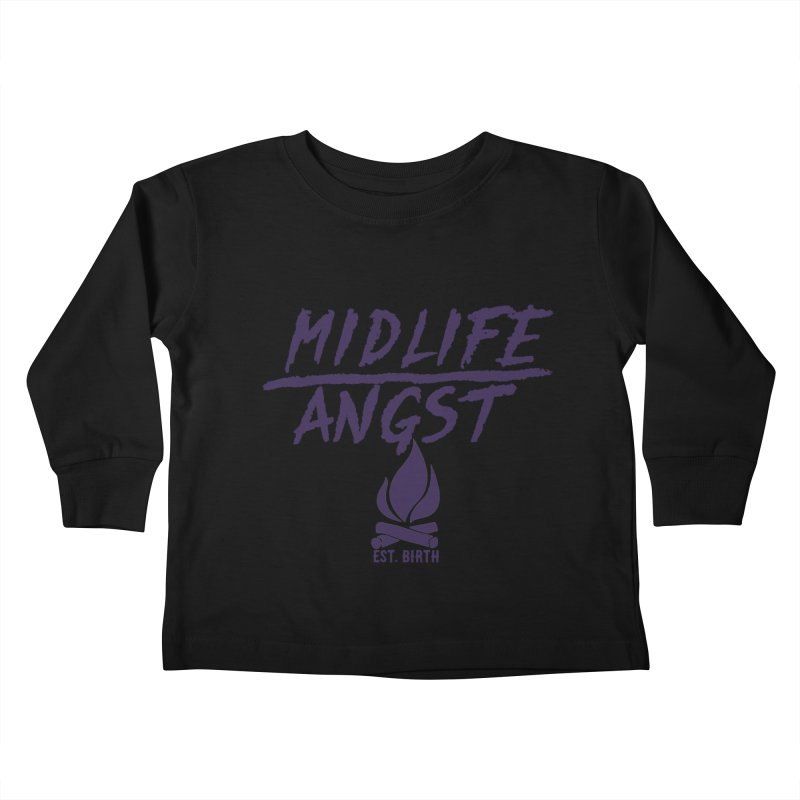 Angst! Kids Toddler Longsleeve T-Shirt by gasponce