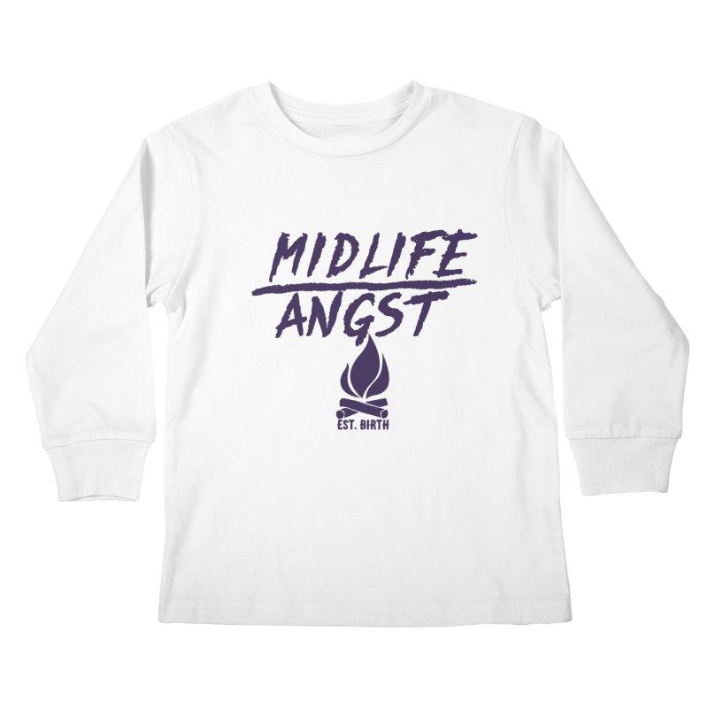 Angst! Kids Longsleeve T-Shirt by gasponce