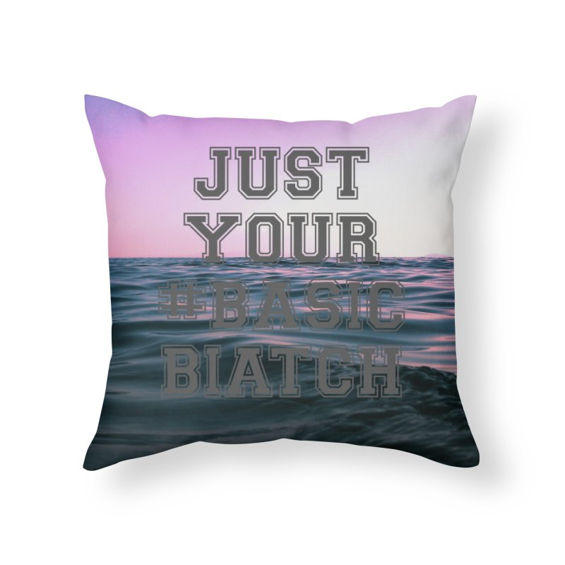 Basic Home Throw Pillow by gasponce
