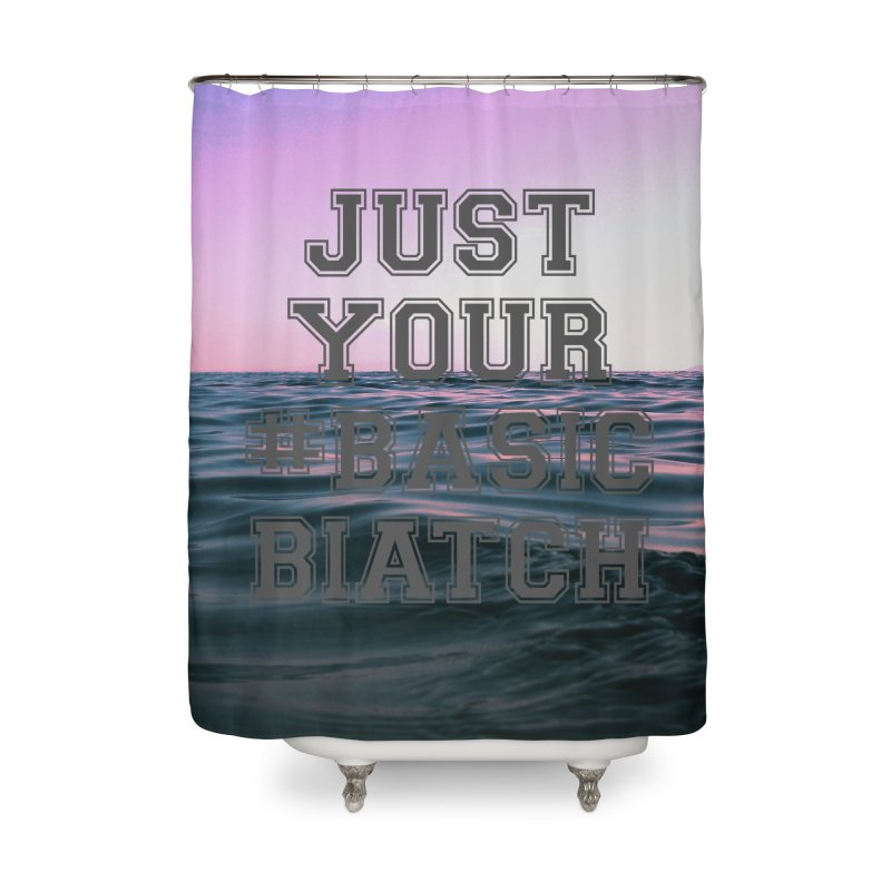 Basic Home Shower Curtain by gasponce