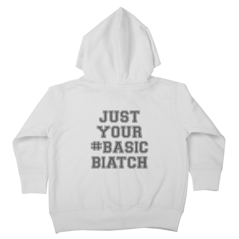 Basic Kids Toddler Zip-Up Hoody by gasponce