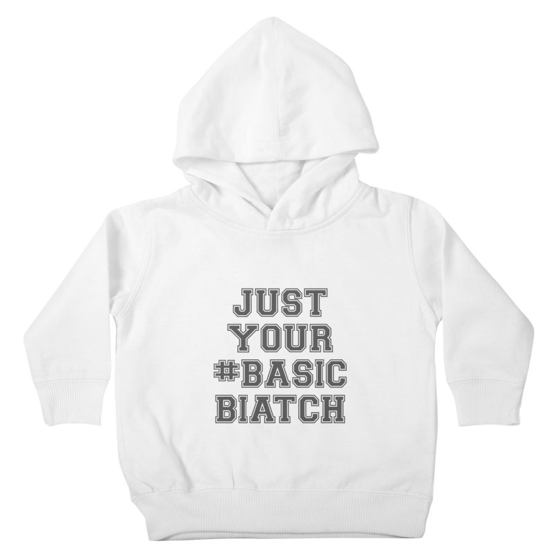 Basic Kids Toddler Pullover Hoody by gasponce