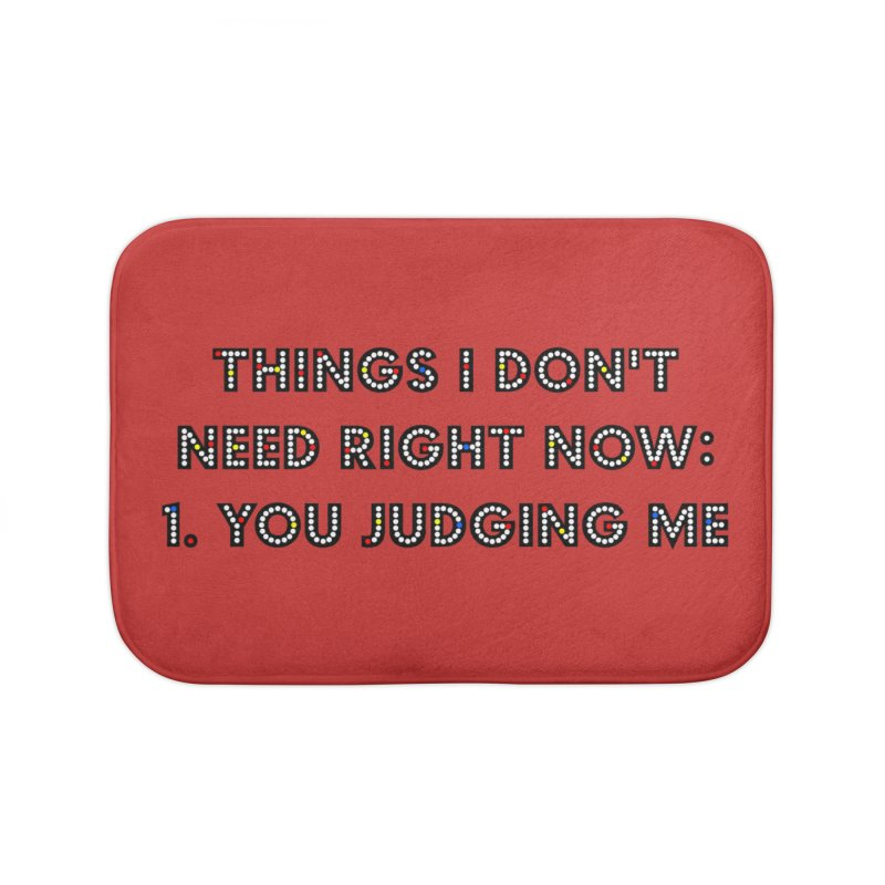 JUDGY Home Bath Mat by gasponce