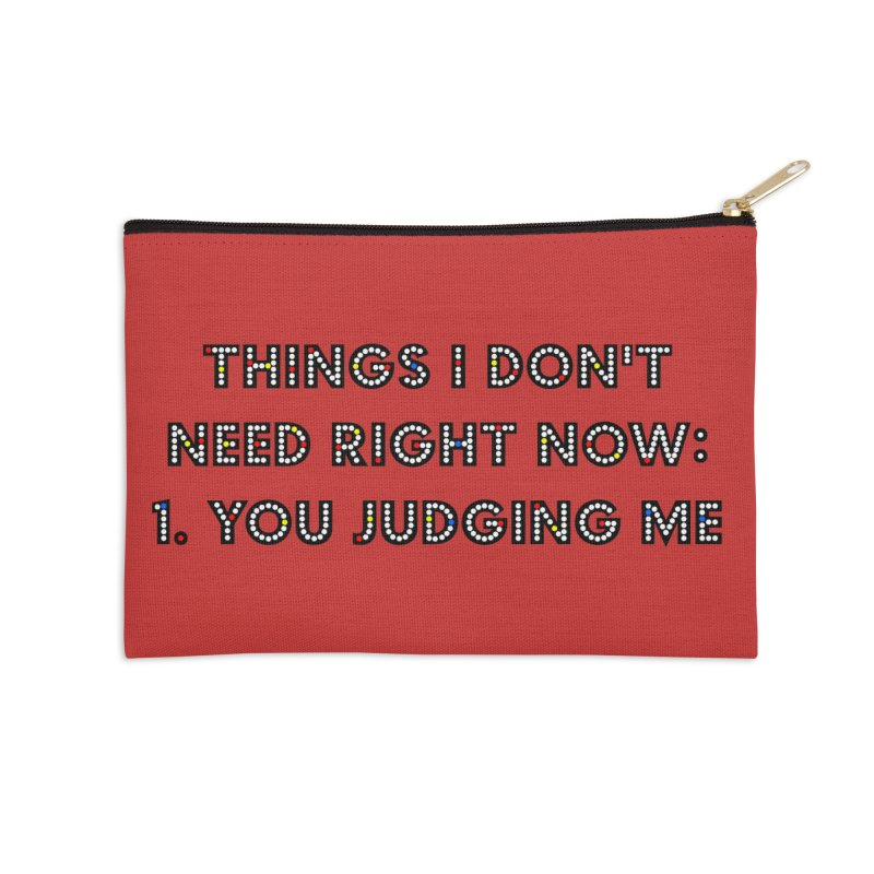 JUDGY Accessories Zip Pouch by gasponce