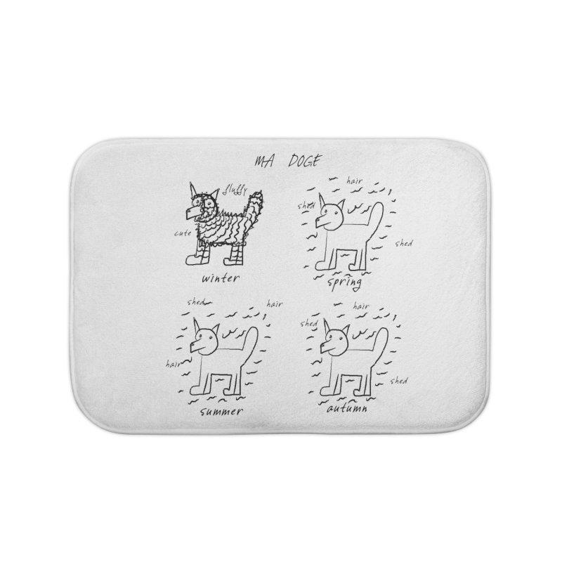 MA DOGE! Home Bath Mat by gasponce