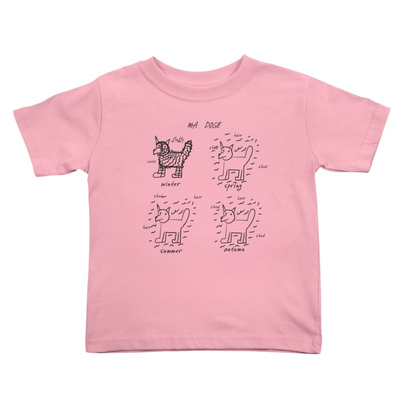 MA DOGE! Kids Toddler T-Shirt by gasponce