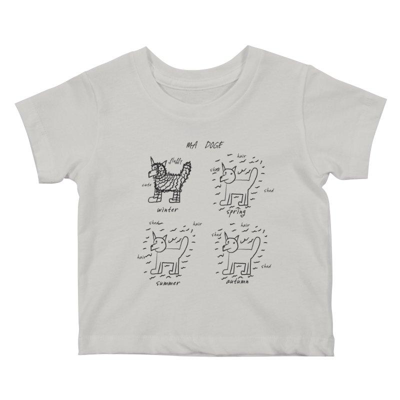 MA DOGE! Kids Baby T-Shirt by gasponce