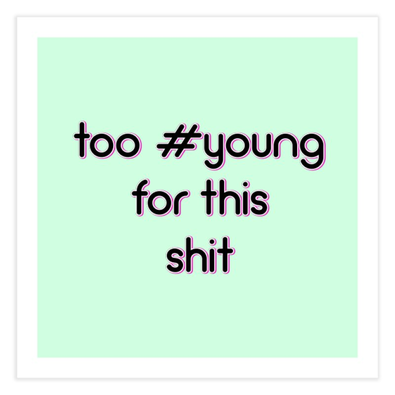 #Young Home Fine Art Print by gasponce