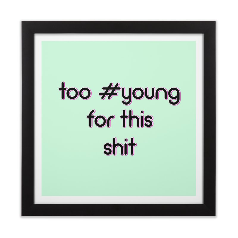 #Young Home Framed Fine Art Print by gasponce