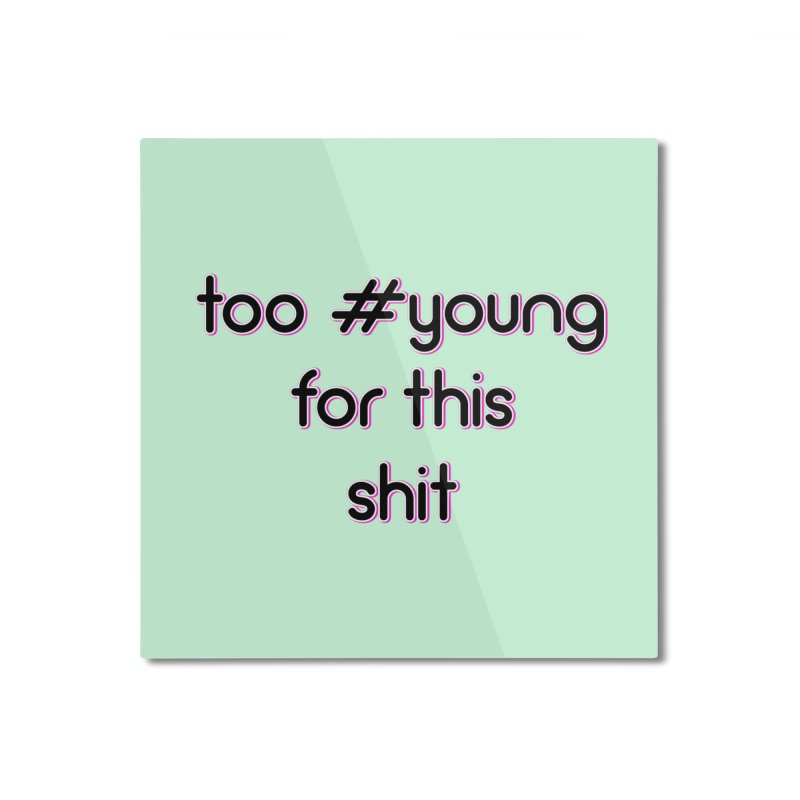 #Young Home Mounted Aluminum Print by gasponce