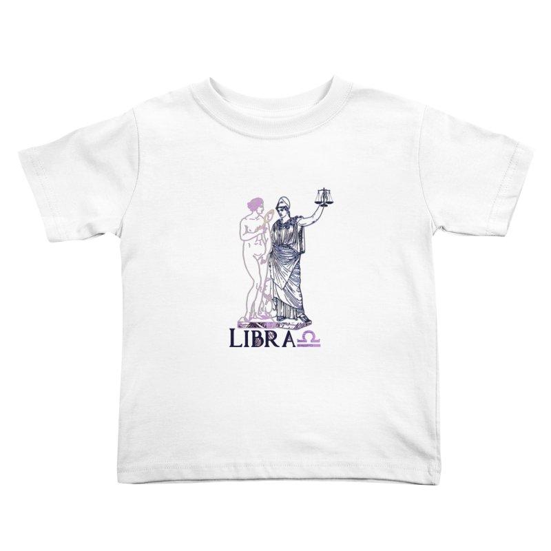 Libra Kids Toddler T-Shirt by gasponce