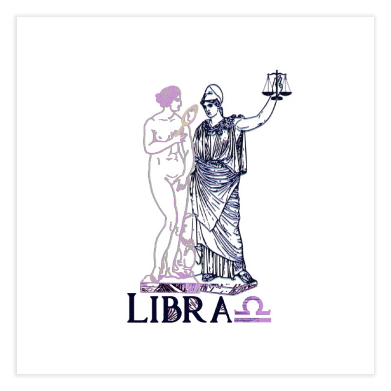 Libra Home Fine Art Print by gasponce