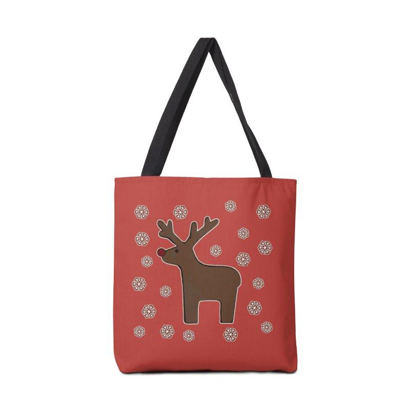 Christmas deer! Accessories Bag by gasponce