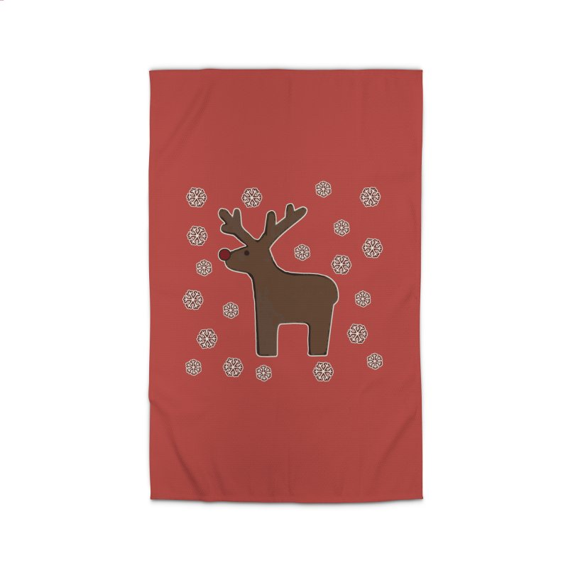 Christmas deer! Home Rug by gasponce