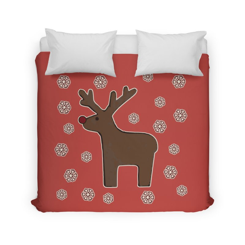 Christmas deer! Home Duvet by gasponce