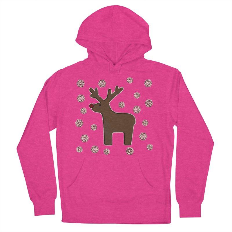Christmas deer! Men's Pullover Hoody by gasponce