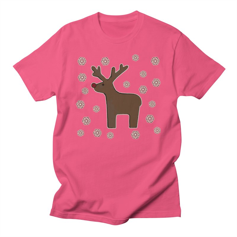Christmas deer! Men's T-Shirt by gasponce