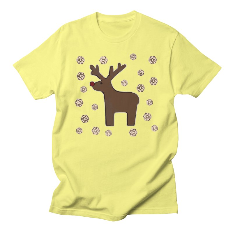 Christmas deer! Women's Unisex T-Shirt by gasponce