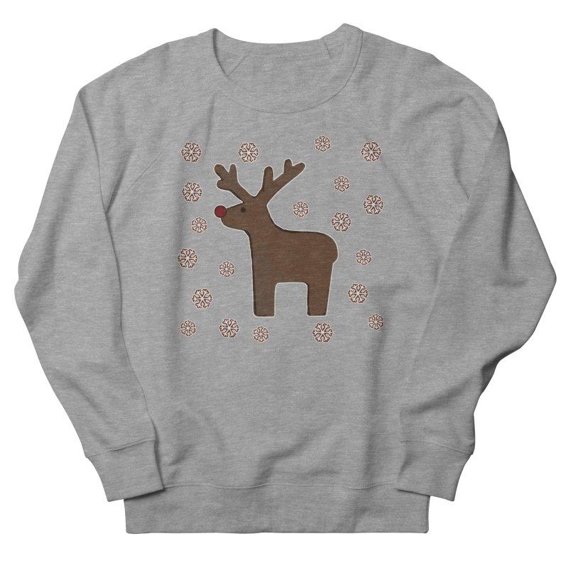 Christmas deer! Men's Sweatshirt by gasponce