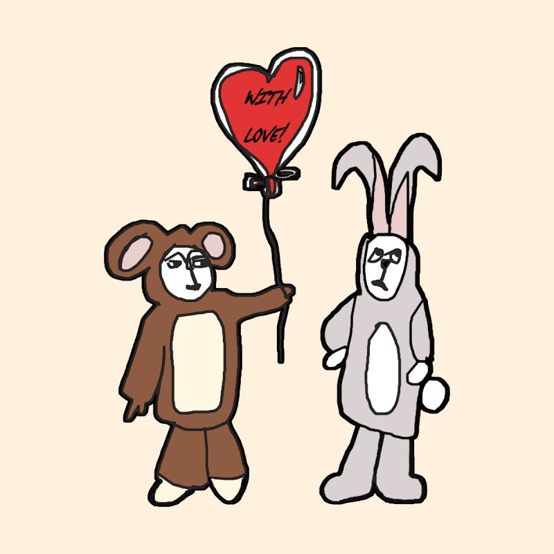 BEAR/ BUNNY LOVE! by gasponce