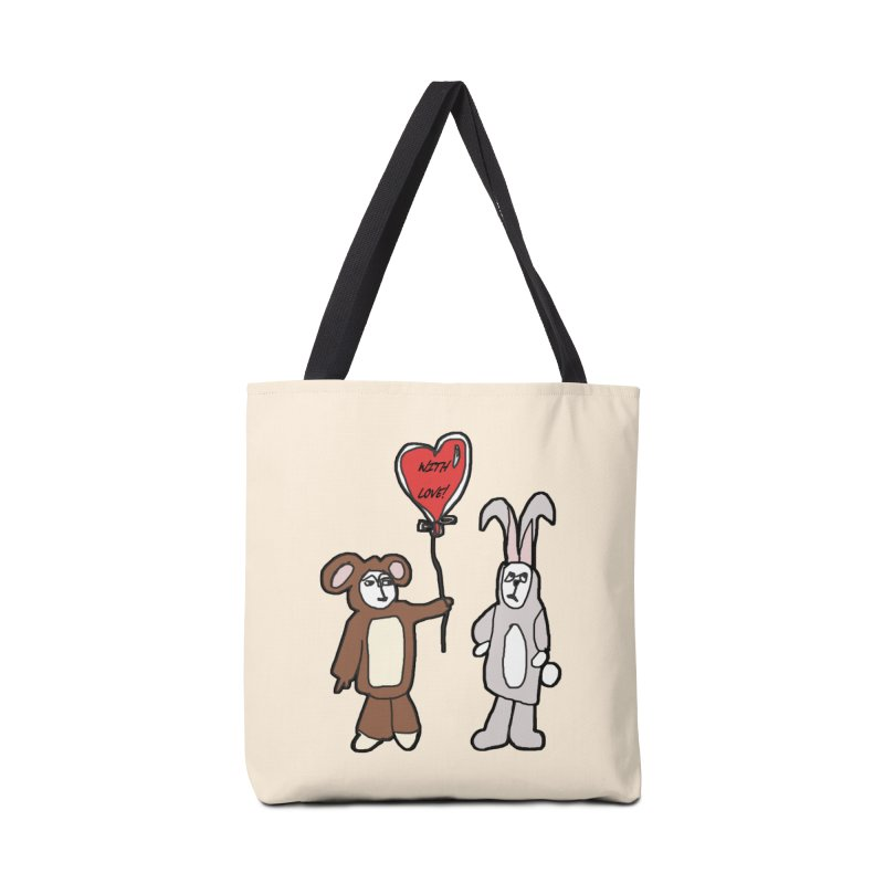 BEAR/ BUNNY LOVE! Accessories Bag by gasponce