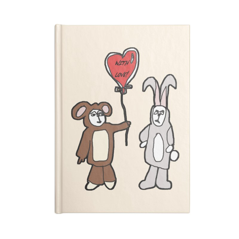 BEAR/ BUNNY LOVE! Accessories Notebook by gasponce