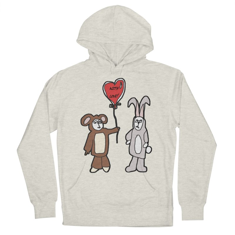 BEAR/ BUNNY LOVE! Women's Pullover Hoody by gasponce