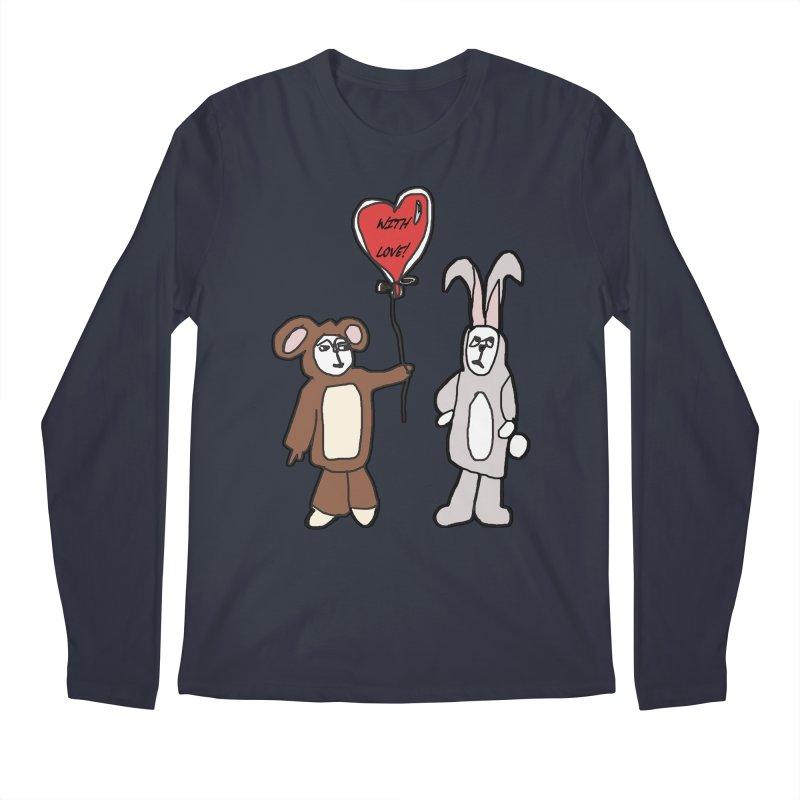 BEAR/ BUNNY LOVE! Men's Longsleeve T-Shirt by gasponce