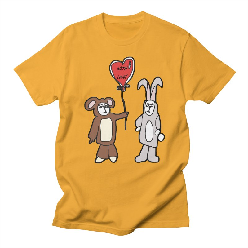 BEAR/ BUNNY LOVE! Men's T-Shirt by gasponce