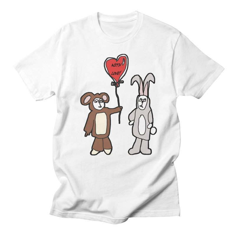 BEAR/ BUNNY LOVE! Women's Unisex T-Shirt by gasponce