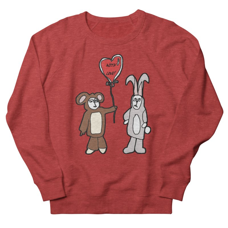 BEAR/ BUNNY LOVE! Men's Sweatshirt by gasponce