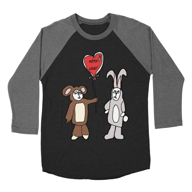 BEAR/ BUNNY LOVE! Women's Baseball Triblend T-Shirt by gasponce