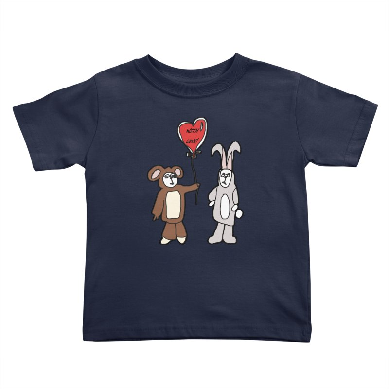 BEAR/ BUNNY LOVE! Kids Toddler T-Shirt by gasponce