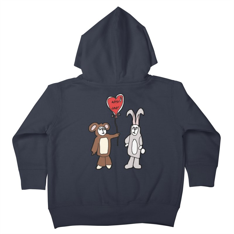 BEAR/ BUNNY LOVE! Kids Toddler Zip-Up Hoody by gasponce