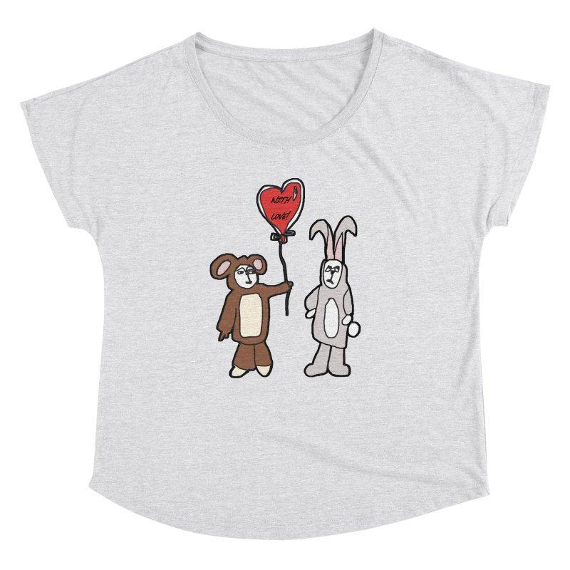 BEAR/ BUNNY LOVE! Women's Dolman by gasponce