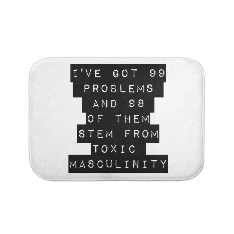Toxic! Home Bath Mat by gasponce