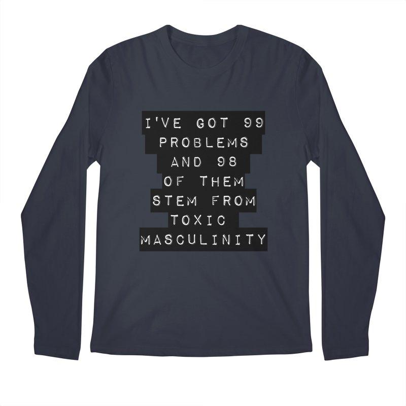 Toxic! Men's Longsleeve T-Shirt by gasponce