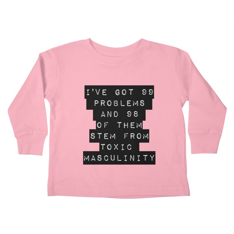 Toxic! Kids Toddler Longsleeve T-Shirt by gasponce