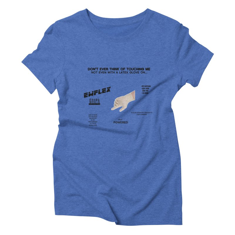Latex! Women's Triblend T-Shirt by gasponce