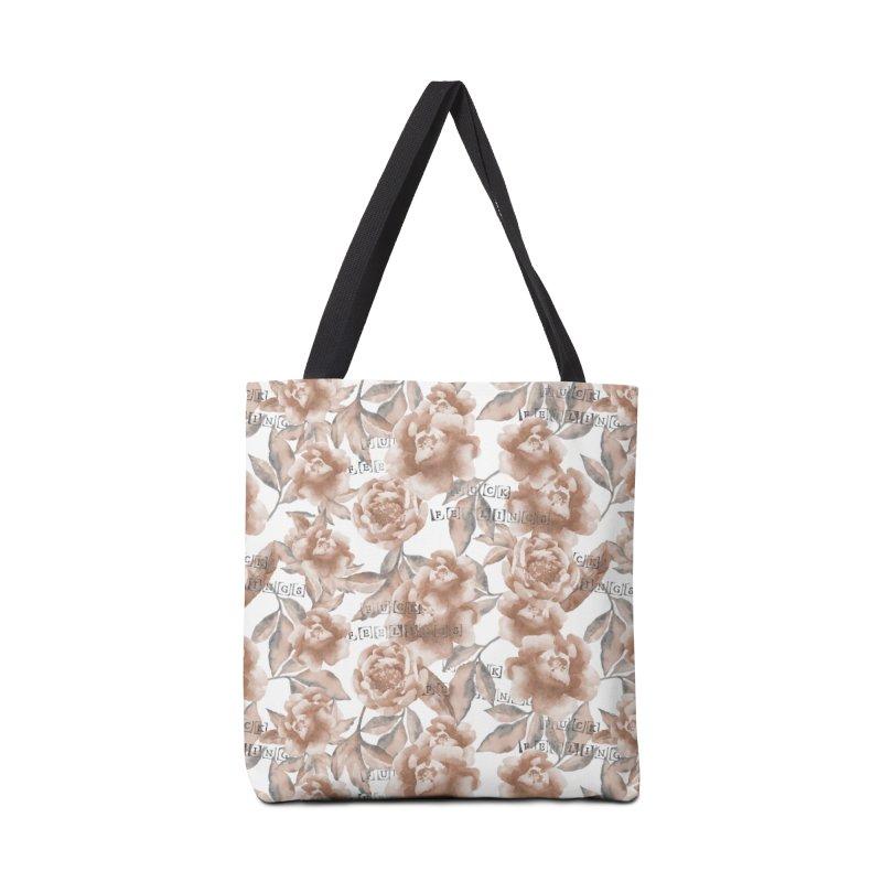 F*CK FEELINGS! Accessories Bag by gasponce