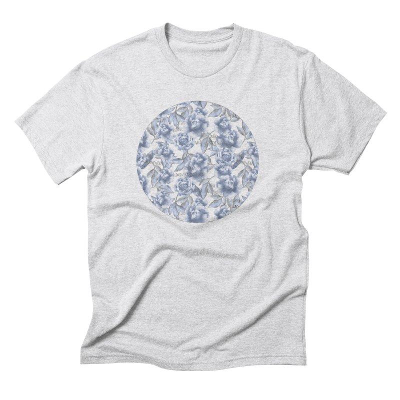 F*CK FEELINGS! BLUE Men's Triblend T-Shirt by gasponce