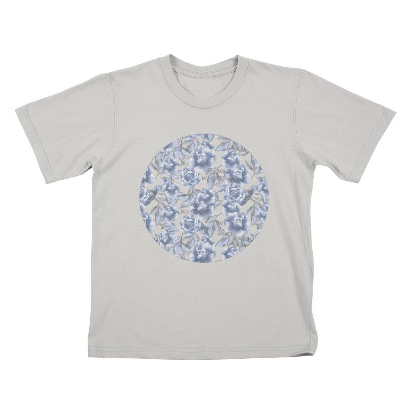 F*CK FEELINGS! BLUE Kids T-Shirt by gasponce