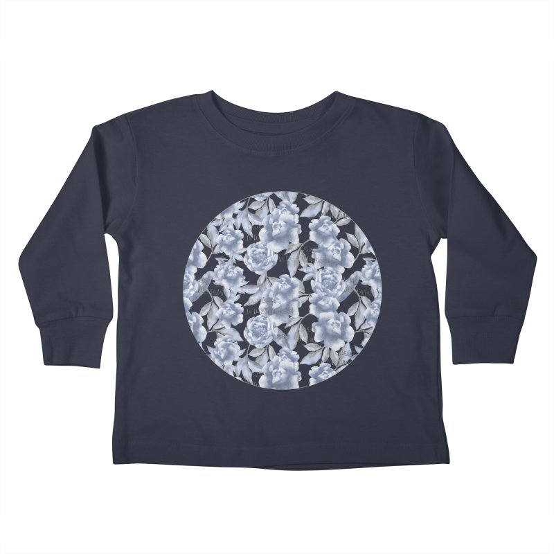 F*CK FEELINGS! BLUE Kids Toddler Longsleeve T-Shirt by gasponce