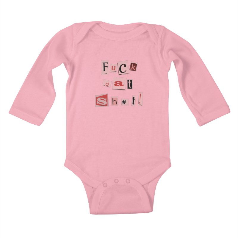 FDS PINK! Kids Baby Longsleeve Bodysuit by gasponce