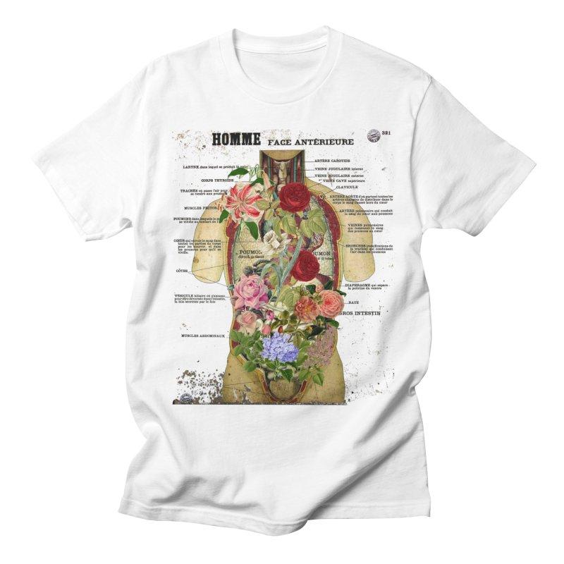 INSIDE Men's T-shirt by gasponce