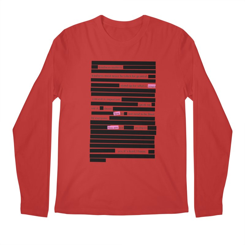 MANIFEST/ATION Men's Longsleeve T-Shirt by gasponce