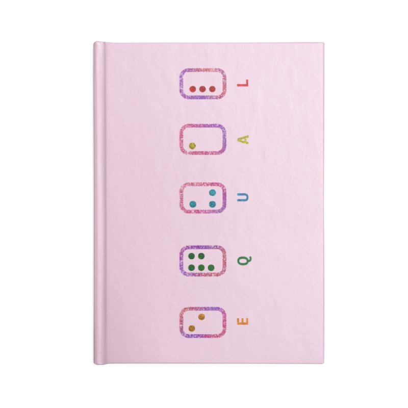 EQUAL (GLITTER VERSION) Accessories Notebook by gasponce
